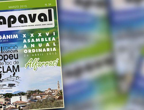 El derecho de los paranyeros – Revista APAVAL nº 34