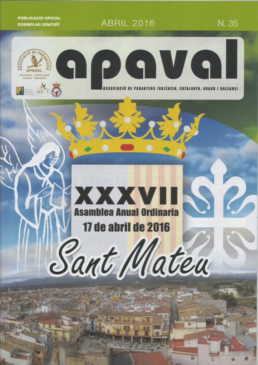 PORTADA REVISTA 35 APAVAL