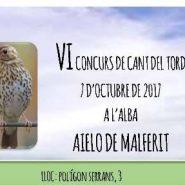 VI Concurs de Cant del Tord – Aielo de Malferit