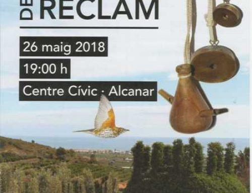 Programa – XXIè Concurs Europeu de Reclam – Alcanar 2018