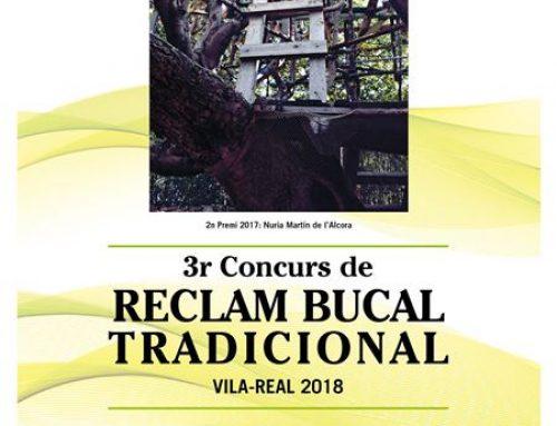 3r Concurs de Reclam Bucal Tradicional- Vila-real 2018