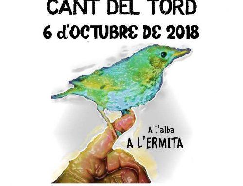 VII Concurs de Cant del Tord- Alfarrasi 2018
