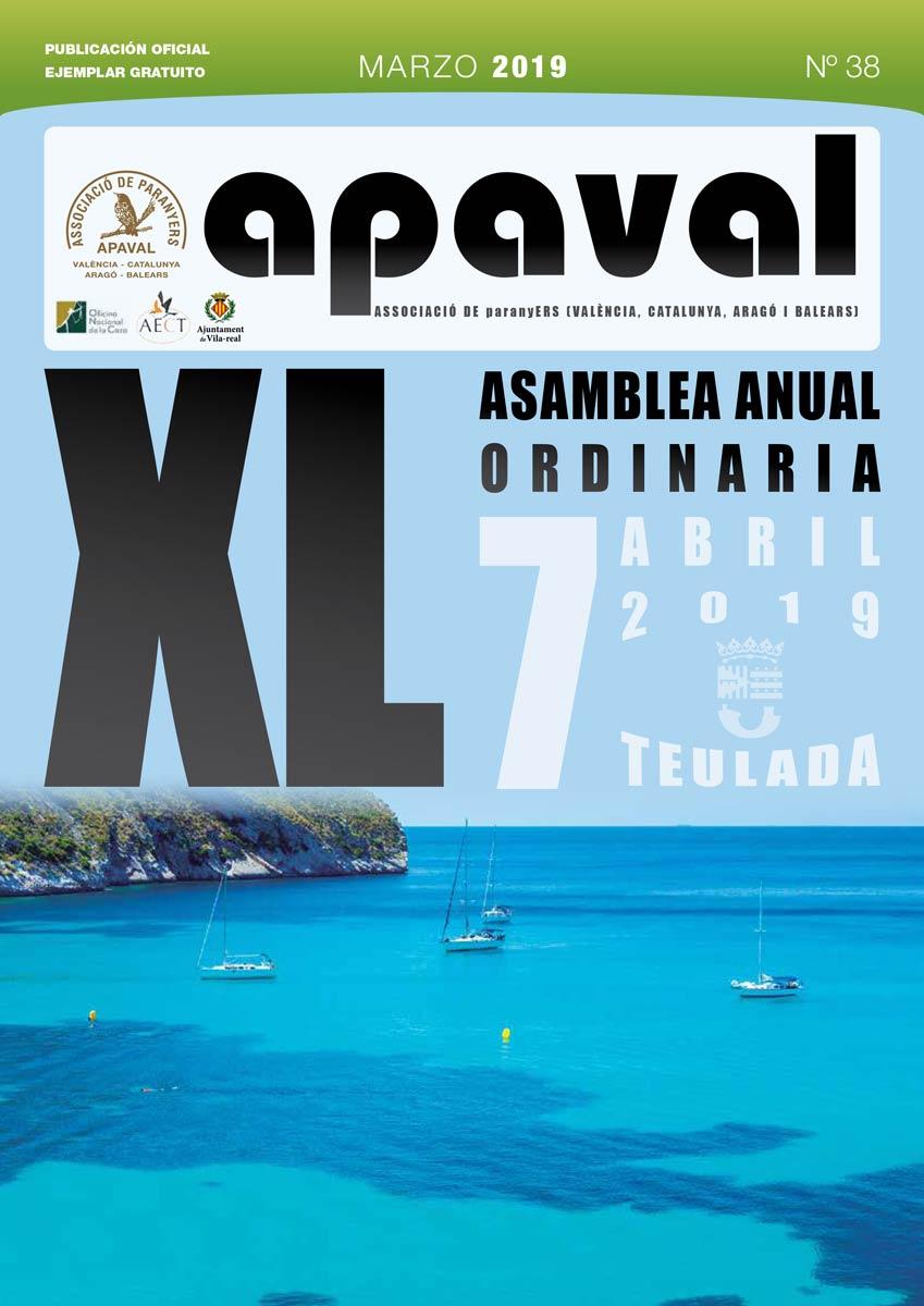 Revista Apaval n38 marzo 2019