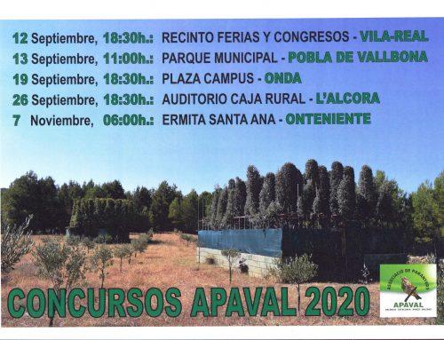 CONCURSOS APAVAL 2020