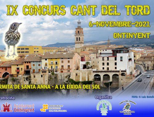 IX Concurs Cant del tord – Ontinyent